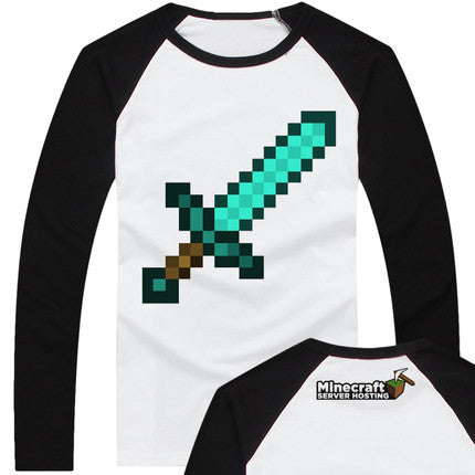 Minecraft  Sword Sweatshirt - icoshero