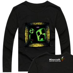 Minecraft  Creeper Peeping Sweatshirt - icoshero