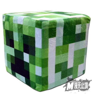 Minecraft  Pixel Plush Cubic Cushion - icoshero