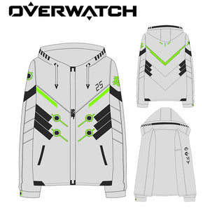 Students' Overwatch Genji Renewed Hoodie Jacket - icoshero