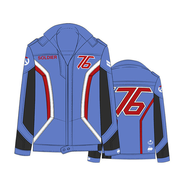 Students' Overwatch Soldier 76 Renewed Jacket - icoshero