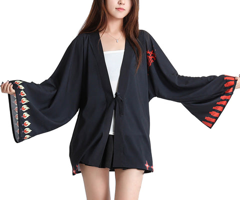 Japanese Anime Chiffon Cardigan Costume Cloak Cosplay Robe Kimono-FFF Group - icoshero