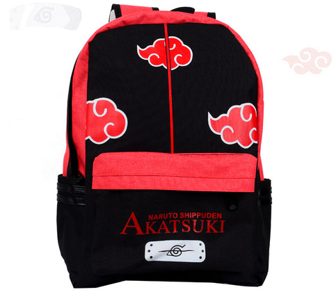 Anime Comics Naruto Teens Canvas Backpack - icoshero