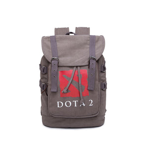 Game Dota Canvas Drawstring Backpack - icoshero