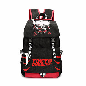 Anime Comics Tokyo Ghoul Canvas Daypack Backpack - icoshero