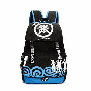 Anime Comics Gintama Teens Canvas Backpack - icoshero
