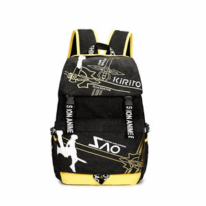 Sword Art Online Canvas Backpack - icoshero
