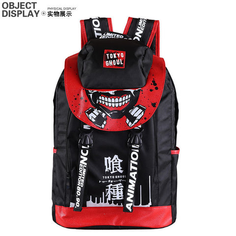 Anime Comics Tokyo Ghoul Daypack Canvas Backpack - icoshero