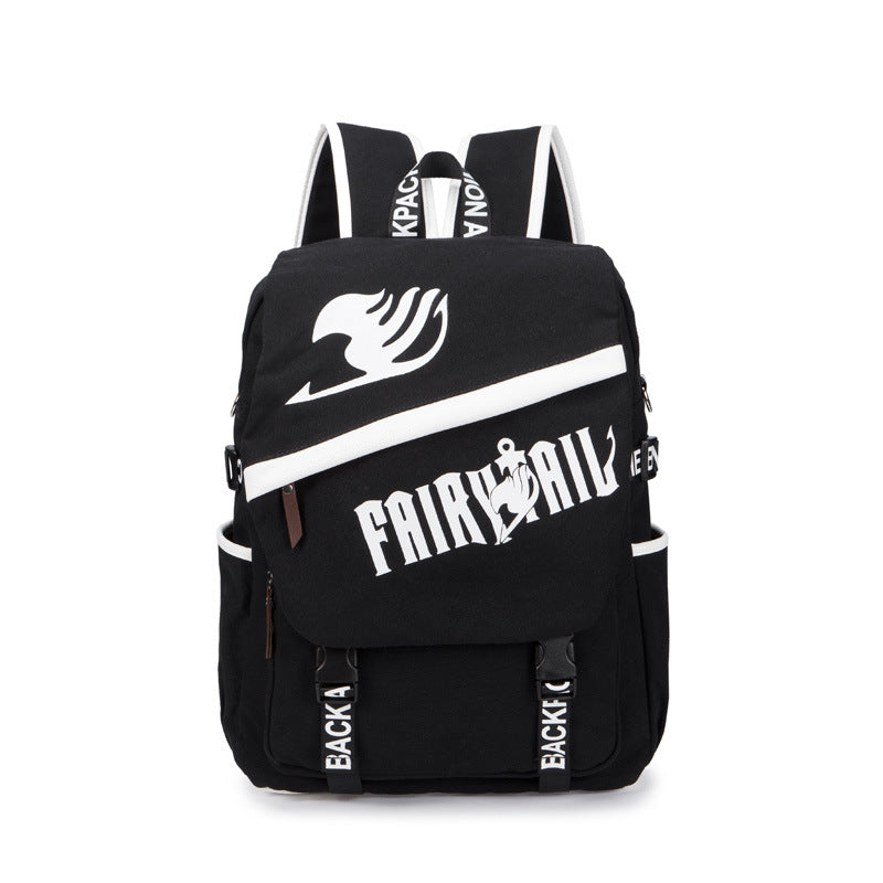 Anime Comics Fairy Tail Backpack For Teens - icoshero