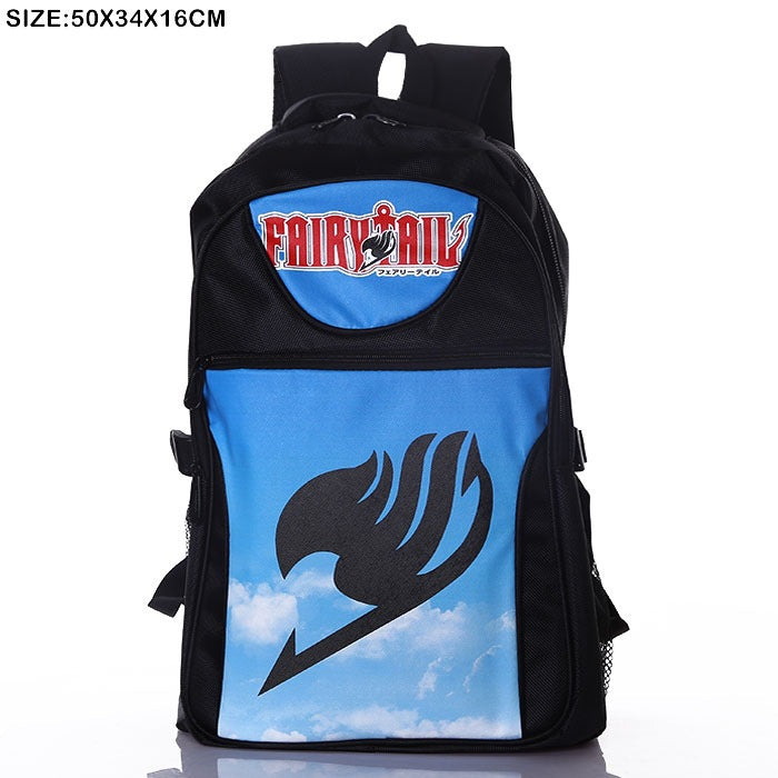 Anime Comics Fairy Tail Teens Backpack - icoshero