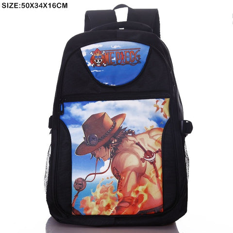 Anime Comics One Piece Teens Backpack - icoshero