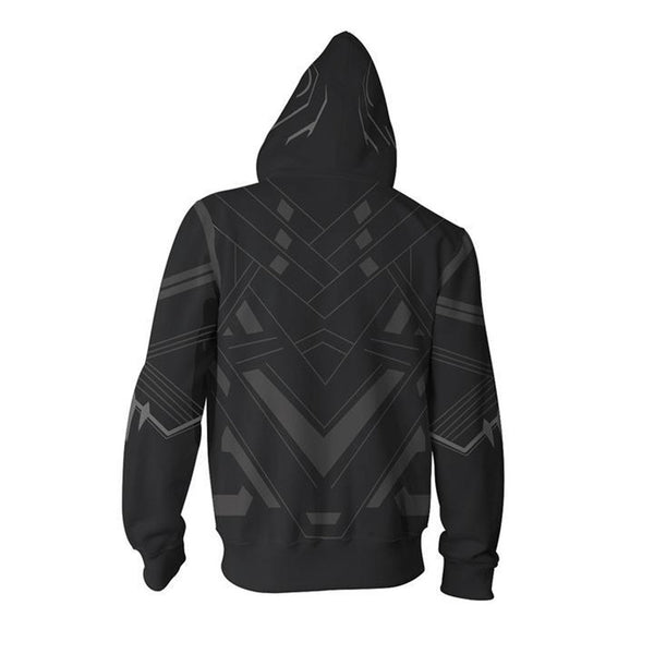 The Avengers Black Panther Zip up Hoodie MZH00A - icoshero