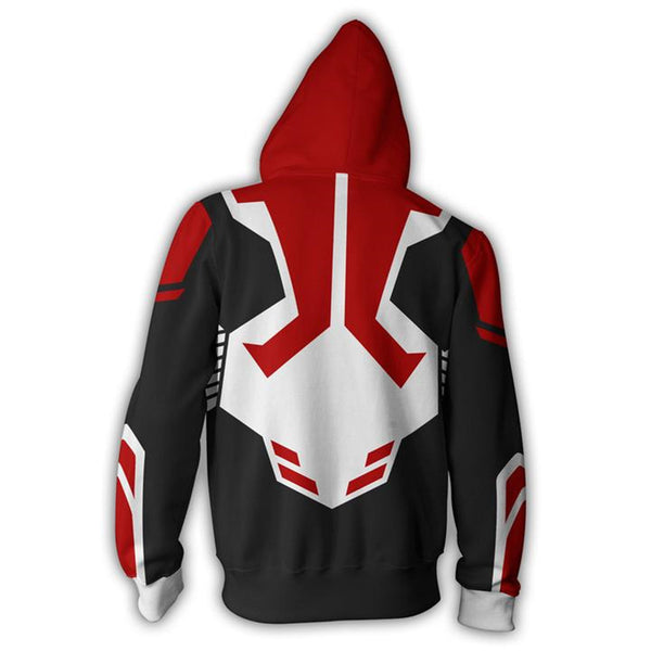 The Avengers Spider Man White Zip Up Hoodie MZH00S - icoshero
