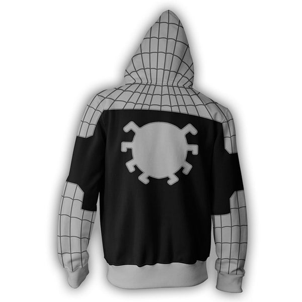 The Avengers Armored Spider Man Zip Up Hoodie MZH00U - icoshero
