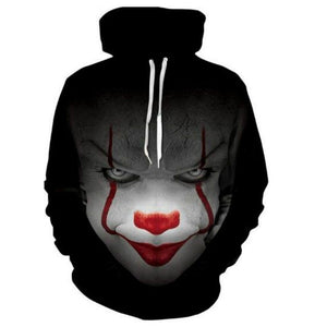 Pennywise The Clown Pullover Hoodie MZH041 - icoshero