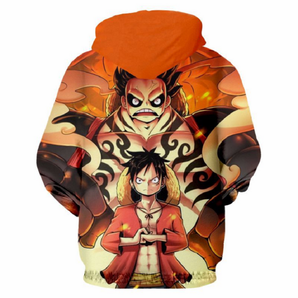 One Piece Monkey D. Luffy Pullover Hoodie MZH175 - icoshero