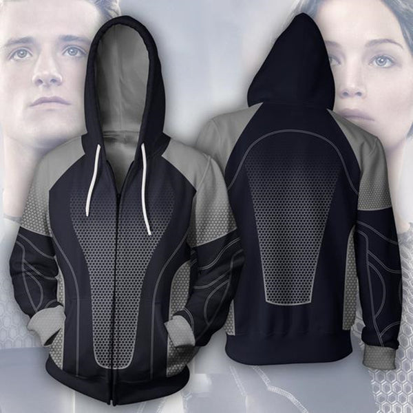 The Hunger Games Zip Up Hoodie MZH301 - icoshero