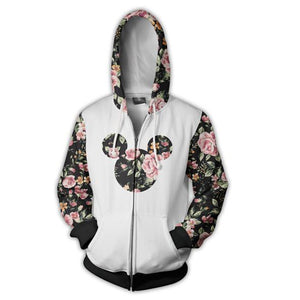 The Mickey Mouse Zip Up Hoodie MZH302 - icoshero