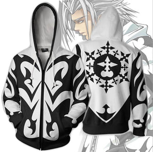 Kingdom Hearts Xemnas Zip Up Hoodie MZH317 - icoshero
