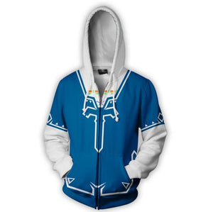 The Legend of Zelda Zip Up Hoodie MZH549 - icoshero