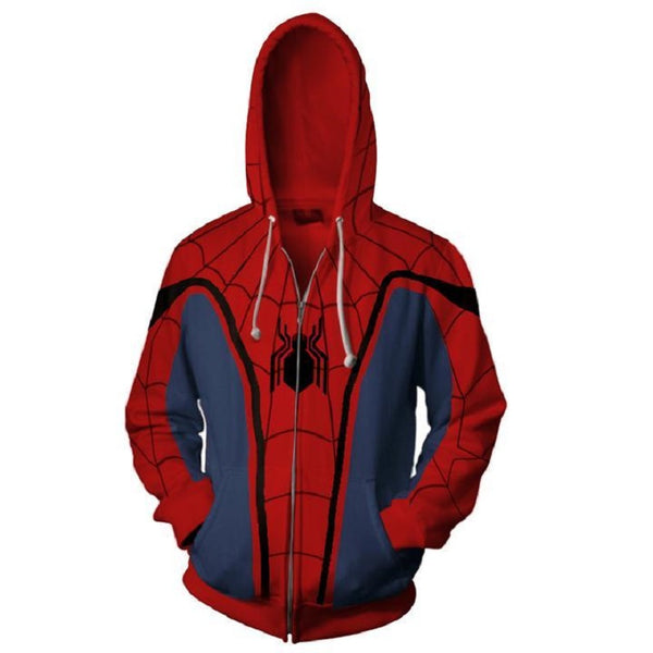 Spider Man 3D Zip Up Hoodie MZH563 - icoshero