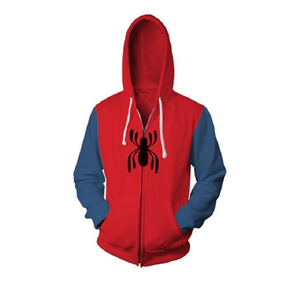Homecoming Spider Man Zip Up Hoodie MZH566 - icoshero