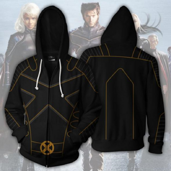 X-Men: Dark Phoenix Zip Up Hoodie MZH708 - icoshero