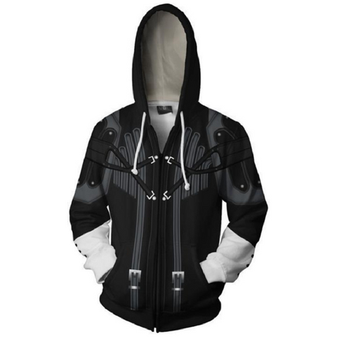 Kingdom Hearts Hoodies - Master Xehanort Zip Up Hoodie MZH890 - icoshero