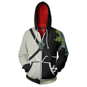 Kingdom Hearts Hoodies - Terra Zip Up Hoodie MZH891 - icoshero