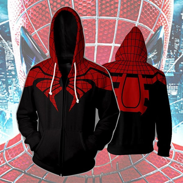 The Superior Spider Man Zip Up Hoodie MZH611 - icoshero