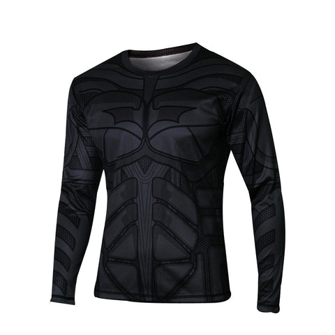 Long Sleeve Super Hero Crewneck Graphic Tees Jogger for Men - icoshero