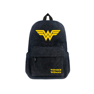 "DC Comics Wonder Woman Luminous 17"" Backpack - icoshero"