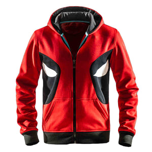 Men's Marvel Comics Deadpool Classic Logo Hoodie - icoshero
