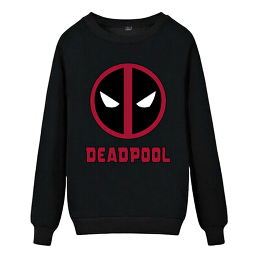 Men's Pullover Deadpool Fleece Superhero Sweatshirt Antihero Hoody - icoshero