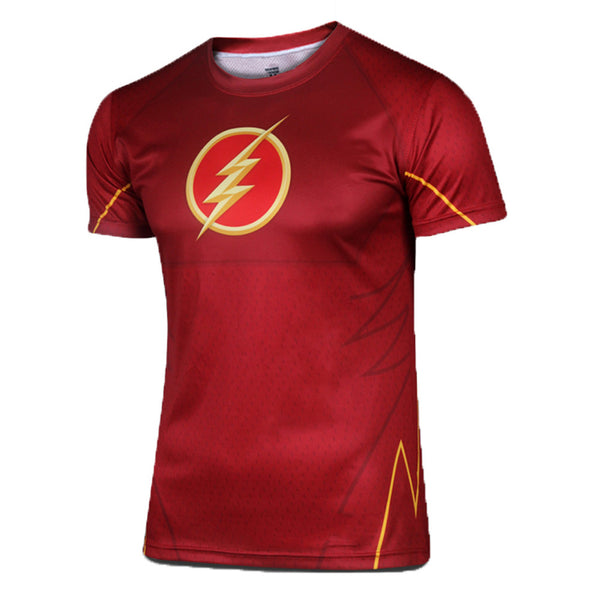 Men's DC Heroes US Comics T-shirt Marvel Comics Tee-The Flash - icoshero
