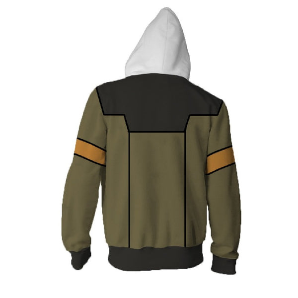 Voltron: Legendary Defender Lance Zip Up Hoodie MZH561 - icoshero