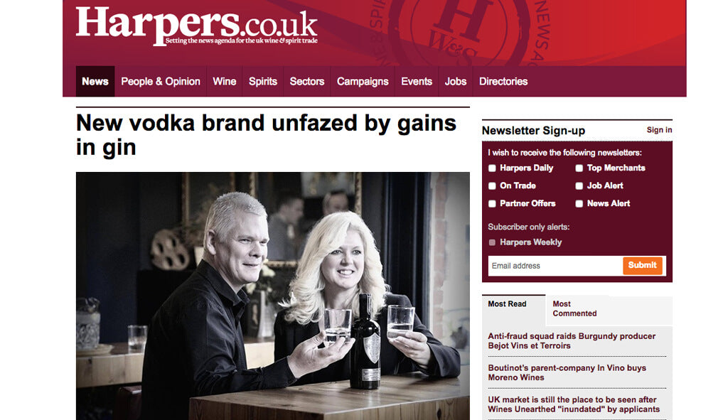 New Vodka Brand Unfazed by Gains in Gin, April 11, 2016