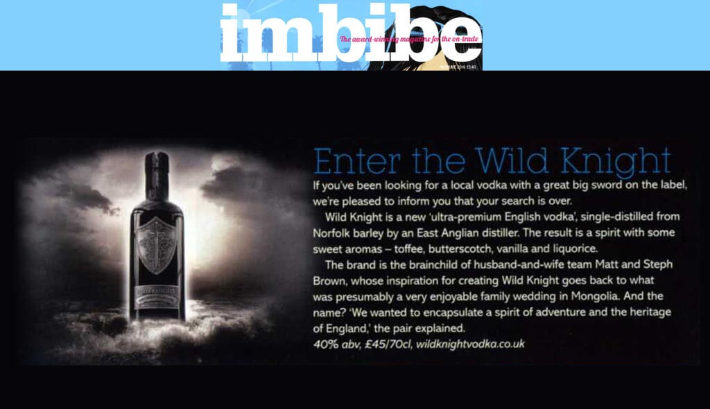 Imbibe Magazine, May/June 2016