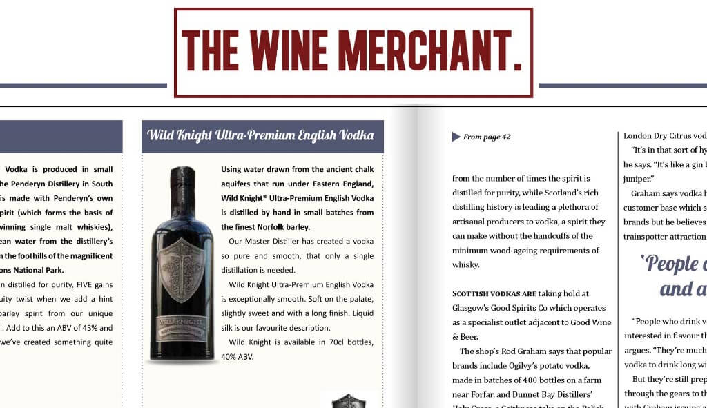 The Wine Merchant, May 2016