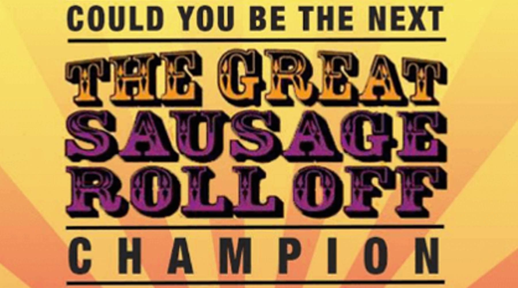 The Great Sausage Rolloff: January 25 2017