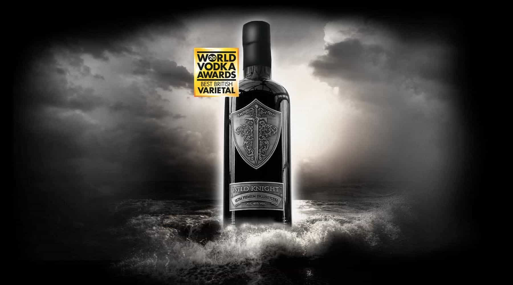 Wild Knight® Ultra-Premium English Vodka