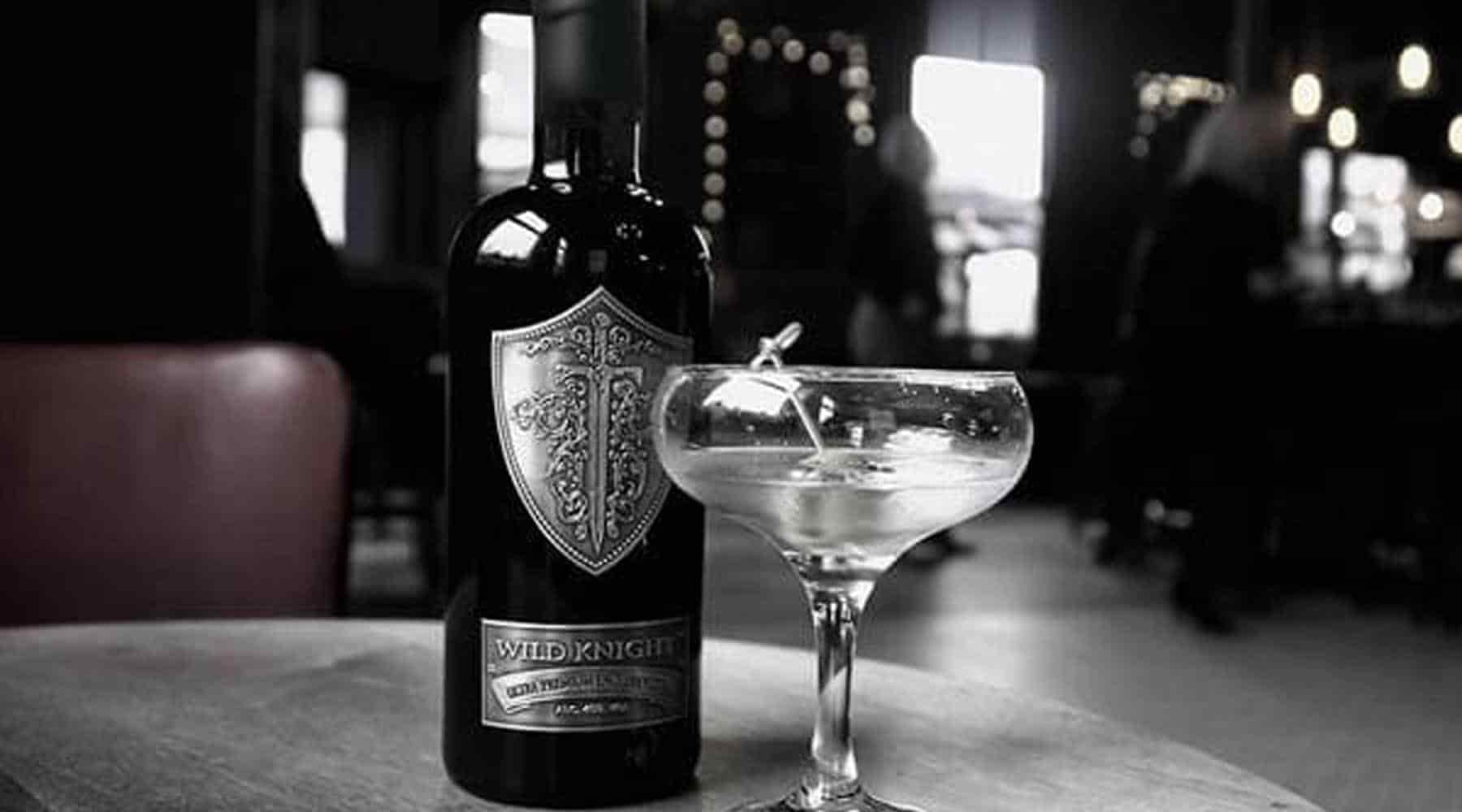 Wild Knight® vodka martini