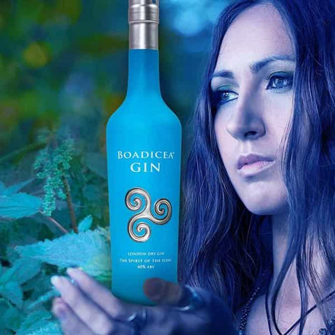 Boadicea Gin Classic, distilled with juniper, citrus, thyme and nettle