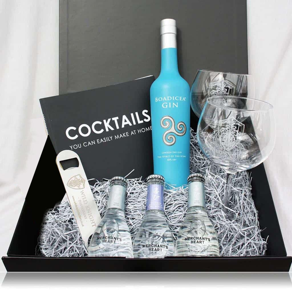 The Ultimate 'Boadicea Gin' Cocktail Hamper