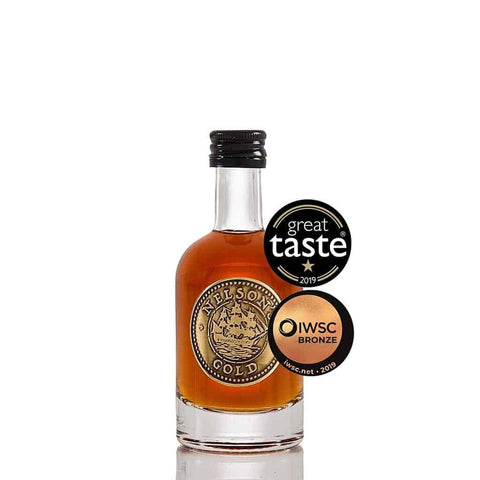 5cl miniature Nelson's Gold® caramelised vodka