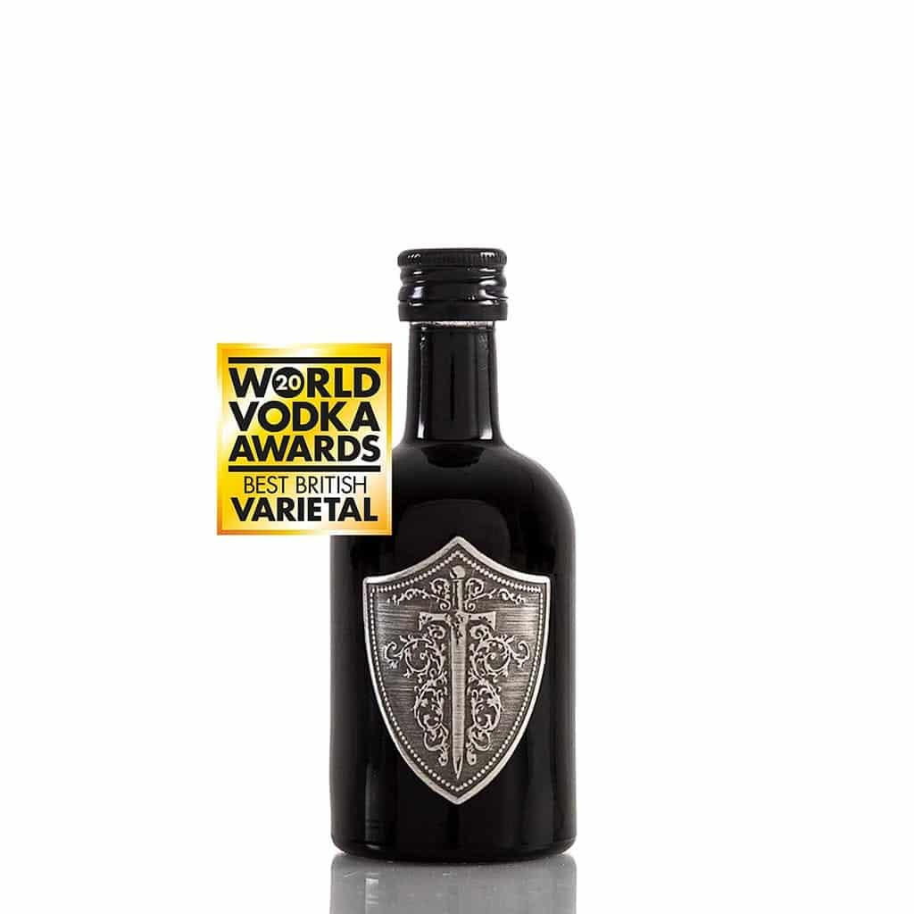 5cl miniature Wild Knight® English vodka