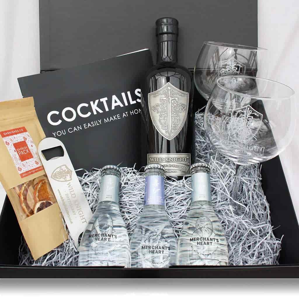 The Ultimate 'Wild Knight English Vodka' Cocktail Hamper