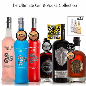 Wild Knight® Distillery - All Distillery Spirits & Mixers Pairing Collection