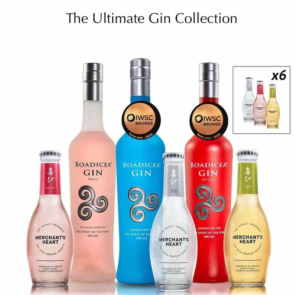 Mixed Gin Trio & Mixers Pairing Collection - Wild Knight® Distillery
