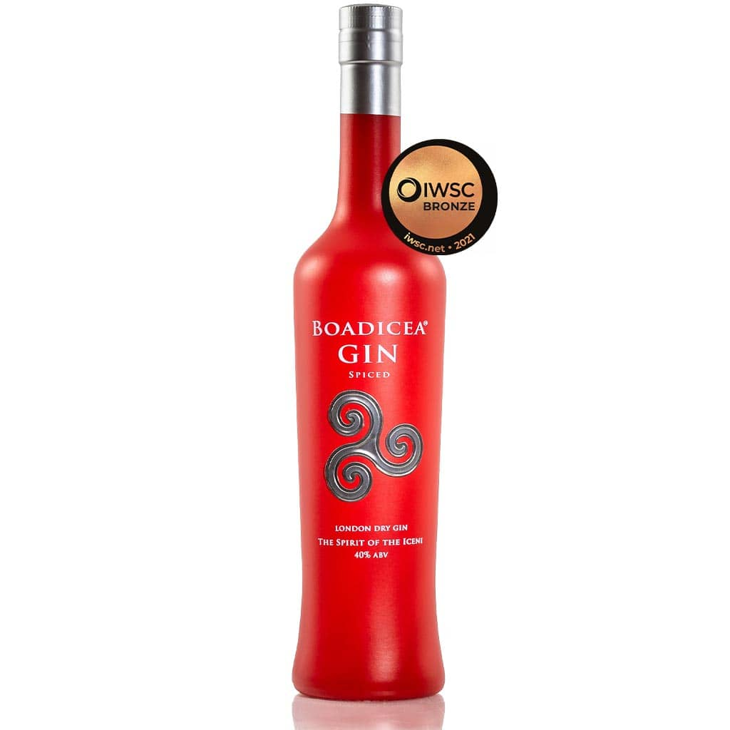 Boadicea® Gin 'Spiced' from Wild Knight® Distillery